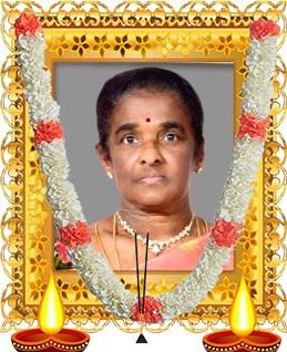திருமதி யசிந்தா பரந்தாமன் சுப்பிரமணியம்